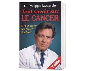 LIBRO TOUT SAVOIR SUR LE CANCER formato 320 x 250